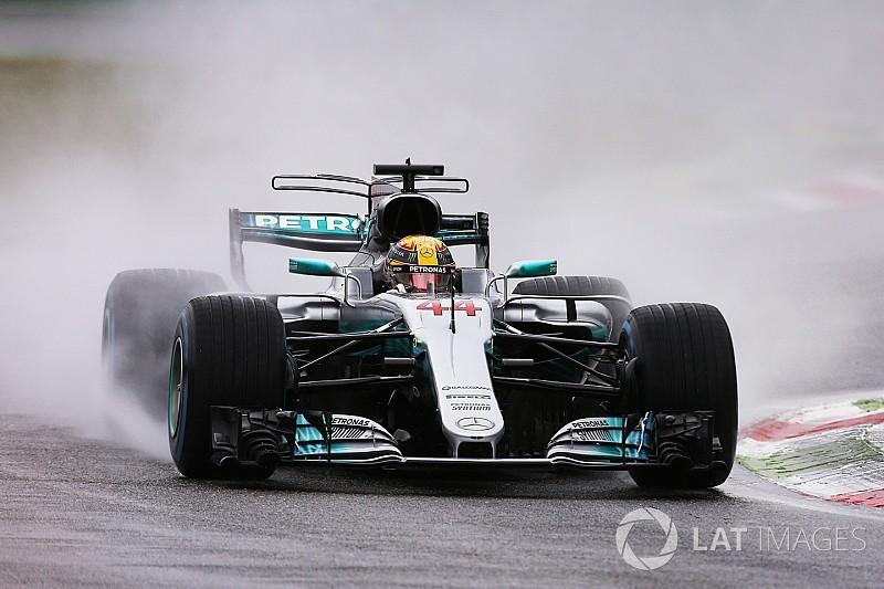 Hamilton: record di pole a Monza. Le Ferrari deludono sul bagnato!