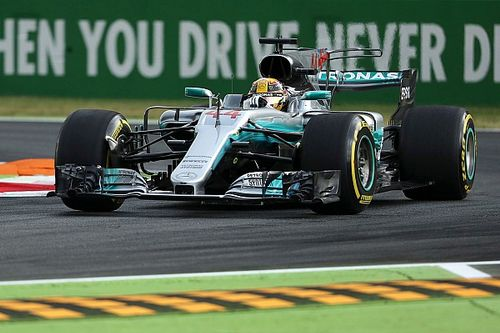 Formel 1 2017 in Monza: Mercedes eine Sekunde vor Ferrari