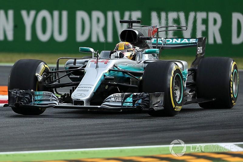 EL1 - Hamilton et Mercedes montrent les muscles