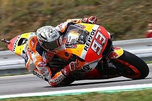 MotoGP Practice report FP3 MotoGP Rep. Ceko: Meski terjatuh, Marquez tampil tercepat