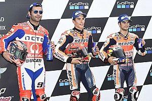 Starting grid MotoGP Jerman 2017