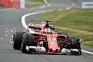 Vettel terkejut dengan masalah ban Ferrari