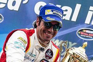 Borja Garcia powers to first NASCAR Whelen Euro Series oval win