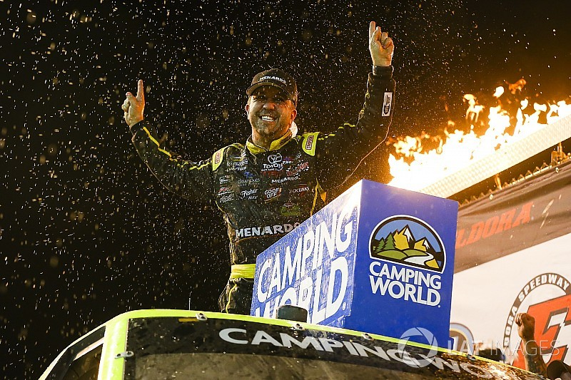 """Matt Crafton relishes """"out of the ordinary"""" Truck victory at Eldora"""