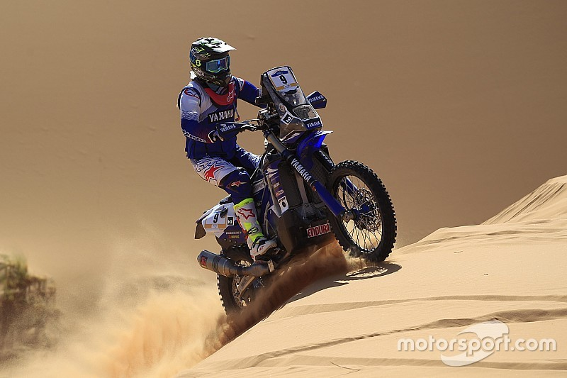 Merzouga Rally: Caimi wins his first stage as a Yamaha rider