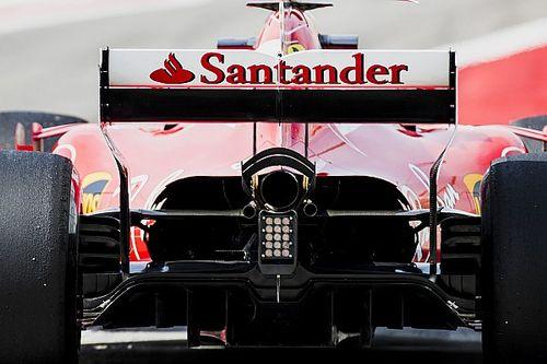 Ferrari: aperto il cofano posteriore per far respirare la power unit
