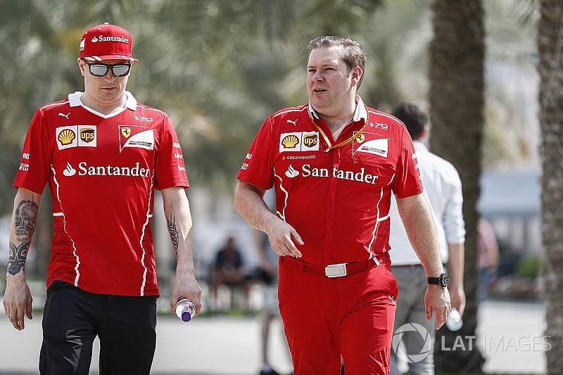Räikkönen első versenyét teljesíti a megszokott versenymérnöke nélkül