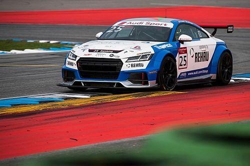 Mikel Azcona cierra con victoria la Audi Sport TT Cup