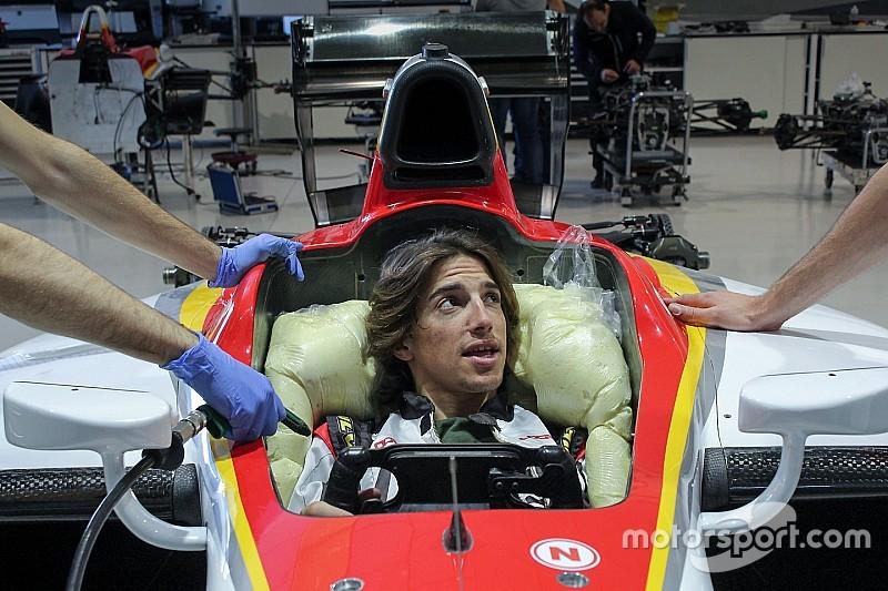 Merhi en los test de F2 con Campos