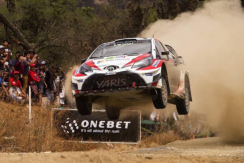 【WRC】メキシコ最終日:6位&7位のトヨタ、初グラベルを無事完走