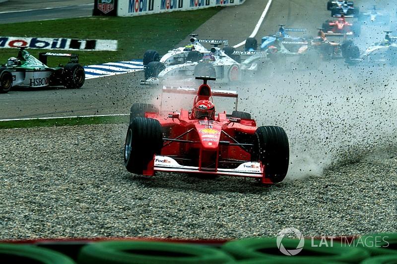 """GALERÍA: los pilotos que ganaron carreras """"raras"""" en la F1"""