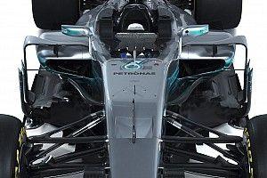 Gallery: Mercedes W08 F1 2017 studio shots
