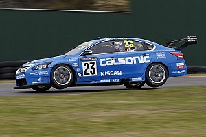 Supercars Practice report Sandown 500: Caruso leads practice, Penske and T8 tangle