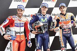 Viñales verslaat Dovizioso en Marquez voor de pole op Misano