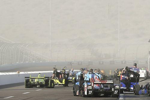 Strange practice conditions hurt Andretti drivers in Phoenix
