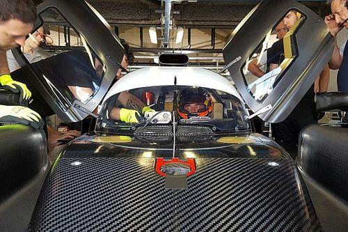 Кубица протестирует прототип SMP Racing перед «Ле-Маном»