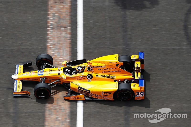 Alonso selects new number for 2019 Indy 500 bid