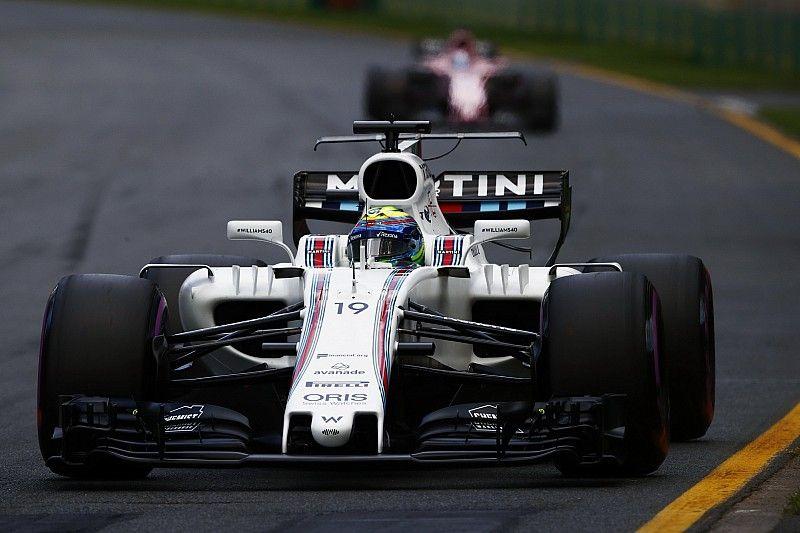 "Williams ""too far ahead"" in F1 2017 midfield battle - Perez"