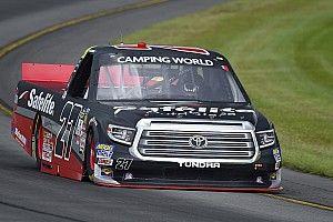 Ben Rhodes edges Kyle Busch for Truck pole at Pocono