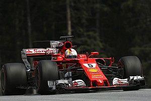 "Em 2º, Vettel minimiza perda da pole: ""estou muito feliz"""
