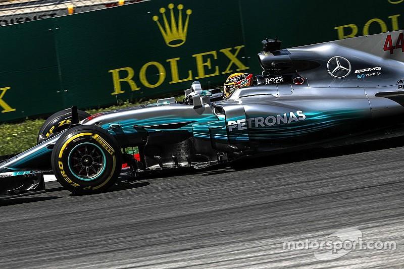 Hamilton perde cinco posições de grid na Áustria