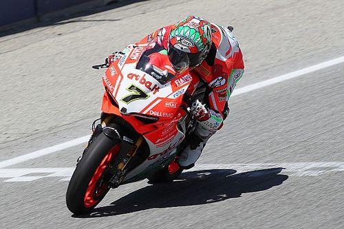 Laguna Seca, Gara 1: Davies porta in trionfo la Ducati tricolore