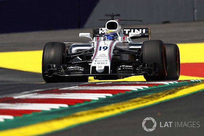 Williams kent ondanks updates moeilijke vrijdag in Oostenrijk