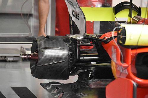 Ferrari: il cestello è stato aperto per scaldare le gomme posteriori