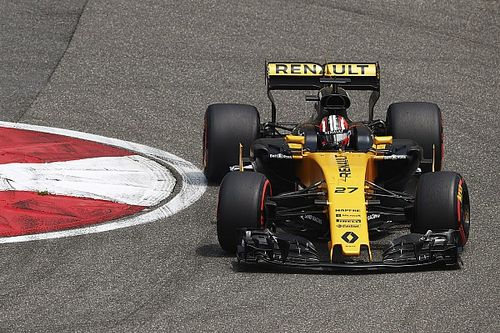 """Hulkenberg """"well surprised"""" by Renault pace"""