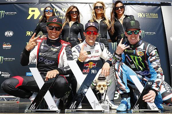 Rallycross-WM in Barcelona: Ekström gewinnt WRX-Auftakt 2017 vor Scheider