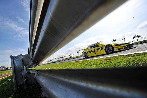 Serra domina quase de ponta a ponta corrida 1 em Goiânia