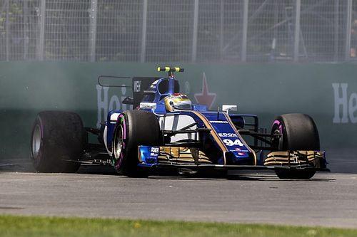 Wehrlein set for grid penalty after Q1 crash