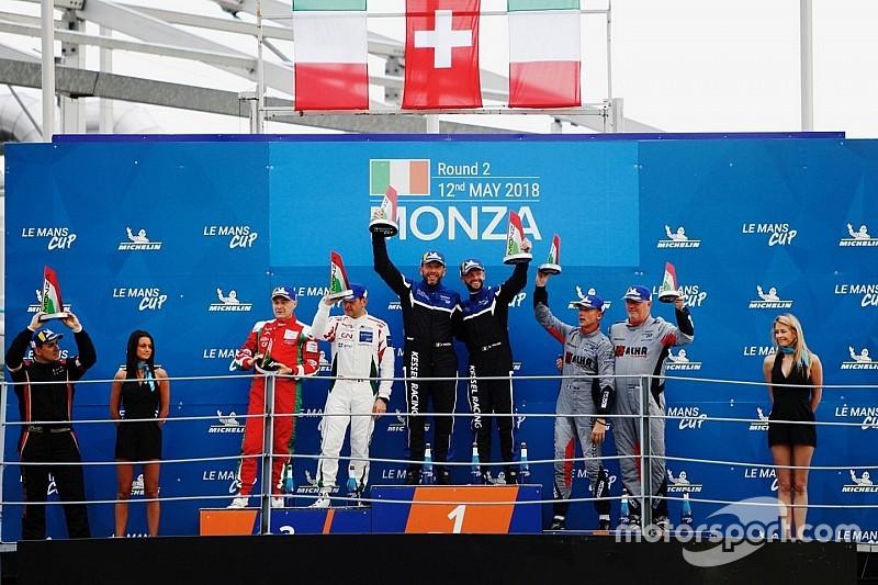 Michelin Le Mans Cup: pole e podio per Baccani a Monza
