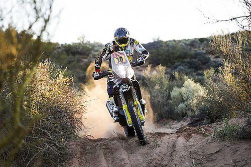 Quintanilla piensa en el tercer mundial tras el 8° del Dakar