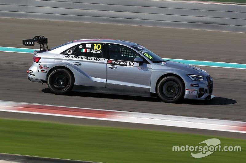 Giacomo Altoè vince con stile Gara 1 ad Abu Dhabi