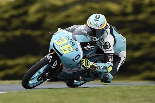 Australian Moto3: Mir takes ninth win and clinches championship
