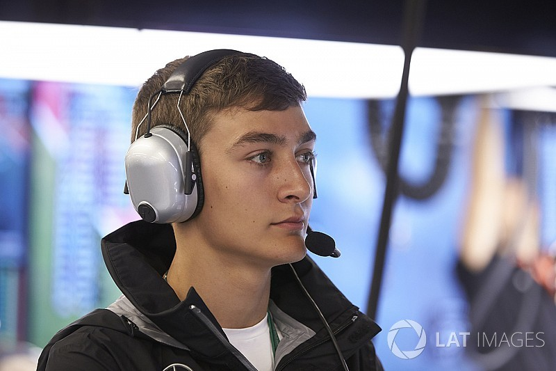 George Russell debutta sulla Force India nelle Libere 1 in Brasile