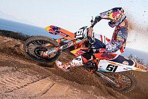 Jorge Prado, el cambio físico y de aires del 'niño' del motocross