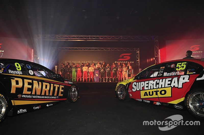 Supercars officially launches new season in Sydney