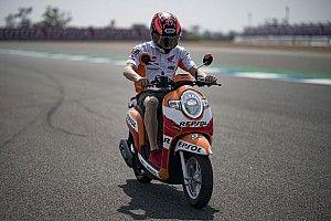 Marquez terkesan dengan antusiasme fans di Thailand