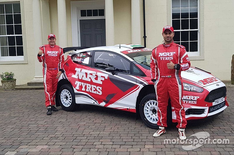 MRF unveils Gill's WRC2 car ahead of debut