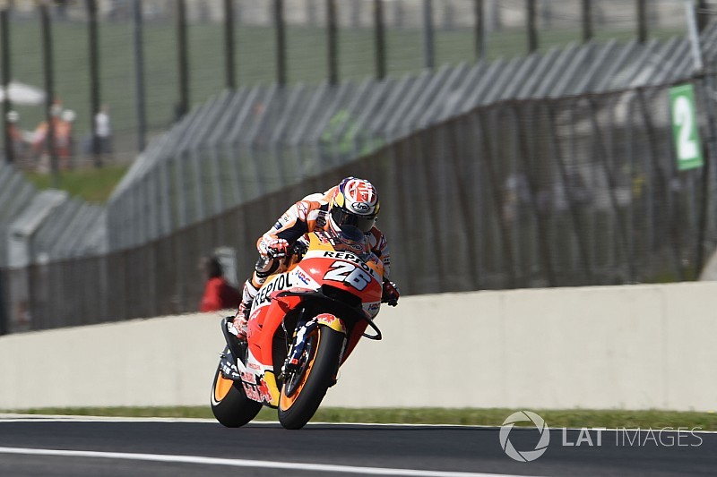 Pedrosa accepts blame for first-lap Nakagami tangle