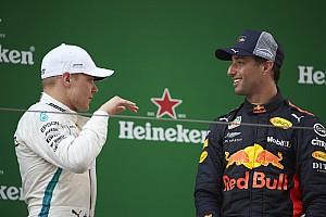 Formule 1 Actualités Mercedes salue l'intelligence de Bottas face à Ricciardo