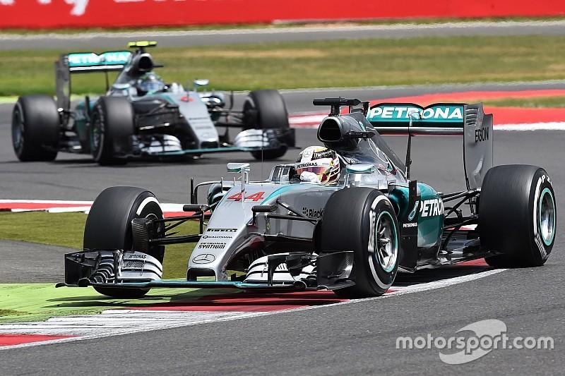 Csak a hőség lehet a Mercedes ellenfele