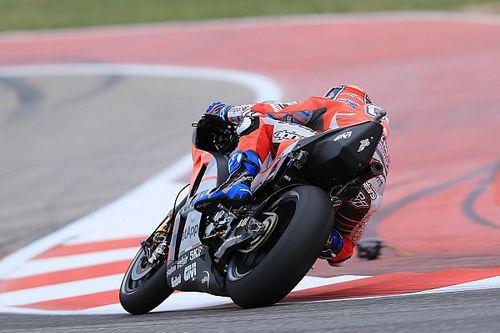 Dovizioso y Márquez se quejan de los baches del circuito