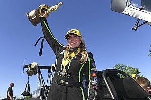 Brittany Force scores her first win of the year