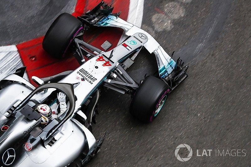 """Hamilton cree que Red Bull está """"bastante por delante"""" de Mercedes"""