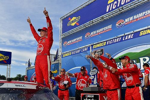 Bell outlasts Keselowski for New Hampshire Xfinity win