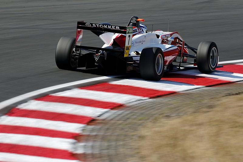 Zandvoort F3: Aron, Ticktum'la olan temasa rağmen kazandı