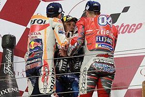 """Para Rossi, Dovizioso y Márquez están """"al mismo nivel"""""""